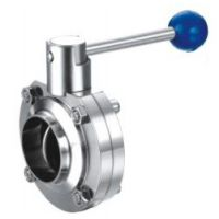 供应供应各种规格不锈钢卫生级阀门 焊接式蝶阀