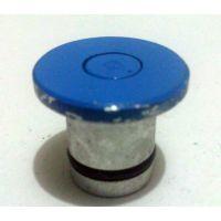 供应鸿煜牌国产安普线夹用蓝色铝制弹射芯