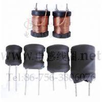 供应一般纳税人厂家仓库处理大功率立式插件工字电感DR2W9*12-10.0MH