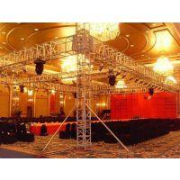 中山一手供应舞台、桁架背景搭建