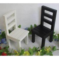 【迷你】小家具 原木 拍摄道具 小椅子1/6用恬美风小凳子