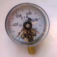 【乔木电气】消防水压力表1公斤气压表浙江厂家批发电接点压力表YX-100/10VA