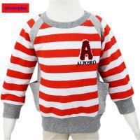 2015年alooughe品牌童装男孩春款条格针织T恤衫^一件代发厂家^