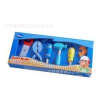 限量 外贸 万能 阿曼工具盒 木制玩具 6pcs配件