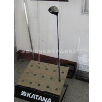 供应定做亚克力高尔夫球杆架 球架 透明球盒 休闲运动用品展示架
