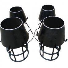 供应消防用DN200钢制吸水喇叭口支架材质|溢流喇叭口含运费|吸水喇叭管实体厂家