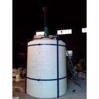 10吨化工搅拌罐 10立方液体搅拌罐 PE耐酸碱搅拌罐厂家