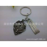 供应纪念收藏仿古金属钥匙扣 创意新款钥匙扣挂件 高档精品