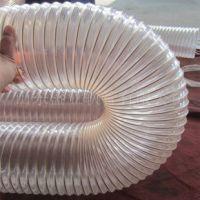 供应聚氨酯PU钢丝螺旋管,大口径食品级PU钢丝螺旋管