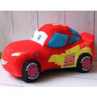 迪士尼汽车总动员毛绒玩具 闪电麦昆车公仔小汽车宝宝儿童礼物