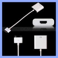 苹果原装芯片ipad to HDMI ipad 3 iphone4s高清转换转接线配件