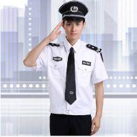保安服短袖衬衣 夏季保安服 酒店物业保安制服装 治安协警服定做