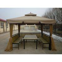 供应供沈阳户外桌椅吉林金属家具大同户外帐篷赤峰户外凉亭
