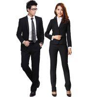 厂家定制批发新款男女搭配职业套装商务时尚修身正装西装