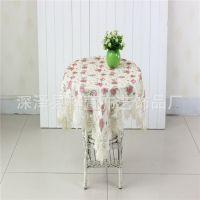 现代简约餐桌布茶几布椅垫 桌布布艺 椅垫套 圆桌 台布套装