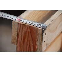 山东木托盘加工厂定做实木四面进叉松木木墩熏蒸木卡板