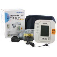 批发欧姆龙数字上臂式电子血压计HEM-7200 家用血压计带电源正品