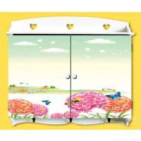 新款促销 手绘田园风格木制电表箱 遮挡箱 壁挂 配电箱3011-421