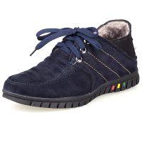 时尚老北京布鞋 冬季男棉鞋潮流系带男鞋加厚保暖鞋韩版休闲棉鞋