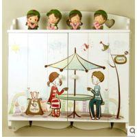 电表箱遮挡箱 韩式 卡通 时尚家居收纳箱 壁挂 挂钩