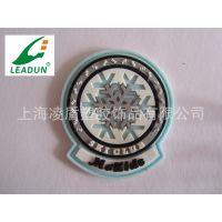 上海软胶标牌厂家 PVC标牌商标 定制公司logo商标标牌 凌盾制作