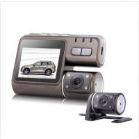厂家批发双摄像头行驶记录仪双镜头高清1080P广角夜视行车记录仪