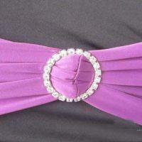 速卖通供货 厂家直销 紫色双层椅背装饰箍带