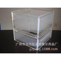 精美亚克力盒子 多层透明盒子237 亚克力抽屉 亚克力盒子定做