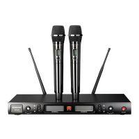 TAKSTAR得胜W80无线麦克风U段数字调频200频道双手持话筒