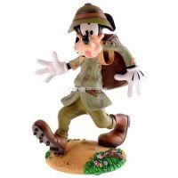 厂家制作园林景观卡通公仔迪士尼动画人物高飞狗树脂玻璃钢工艺品