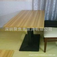 餐厅餐桌/板式餐桌/咖啡厅餐桌定做批发到龙岗聚焦美家具厂