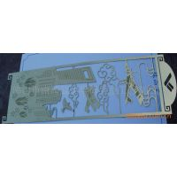 供应金属腐蚀镂空饰片、镂空饰品制作、PVC标牌制作