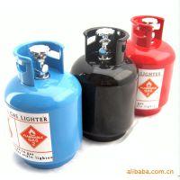 7048创意煤气罐打火机煤气瓶工艺明火打火机