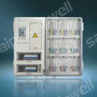 防窃配电箱 单相9位电表箱 小区透明塑料9户电表箱 正品保修