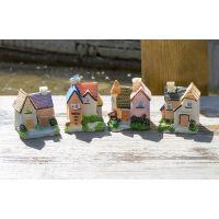 苔藓微景观瓶 假山装饰花园树脂别 迷你小房子摆件优质
