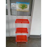 【生产商】食用油超市展示架植物油塑料货架花生油三层展示架