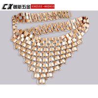 供应各式金属服饰腰链 欢迎选购或来样来图定制各式金属腰链