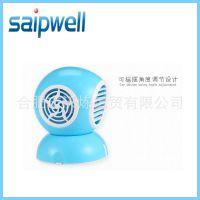 【厂家直销】SP-001迷你小风扇 USB小风扇 纯色迷你小风扇