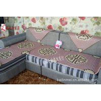 寿南山皮红色夏季沙发垫 福达陶瓷沙发坐垫 皮沙发凉垫