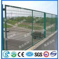 中山双圈铁丝护栏网 广州高速公路隔离栅 深圳桥梁防护网