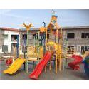 Customized Aqua Splash Spray Park Equipment Water Playhouse with Fiberglass Slides