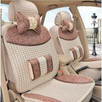 新款汽车坐垫夏季冰丝座套四季通用凉垫捷达普桑朗逸POLO悦朗动