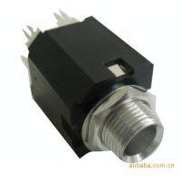供应用于舞台音箱、调音台6.35麦克风插座 三芯、五芯卡侬座批发