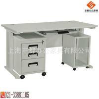 上海供应TZ008/1.2米电脑桌 钢制电脑桌 钢制办公家具 厂家直销