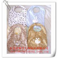 厂家定做婴儿口水巾 加工订制围兜  纯棉料口水巾 宝宝口水巾