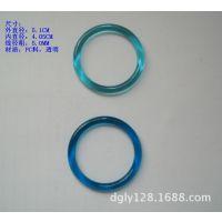 透明塑胶环,塑胶彩色塑胶圈,塑胶圆圈,塑胶闭口环。内直径40MM