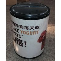 【厂家直销】食品促销冰桶宠物食品广告冰桶食品展销会冷藏冰桶