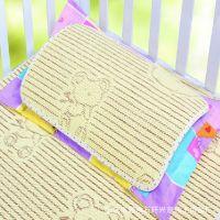 艾尼兔  正品 供应儿童枕片 亚麻草童枕片