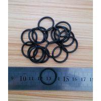 供应黑色耐高温硅胶O型圈线径1mm内径1-80mm