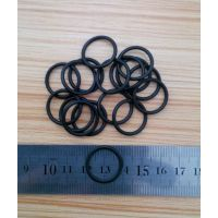 YF0427黑色耐磨橡胶密封圈规格7*1mm